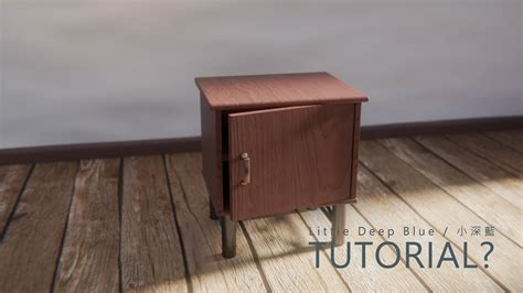 tutorial blender table tutorial blender cycles render bedside table 床頭櫃 youtube