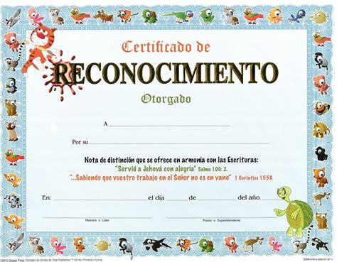 certificados maestros escuela biblica mejor conjunto de certificado reconocimientos de ni 209 os