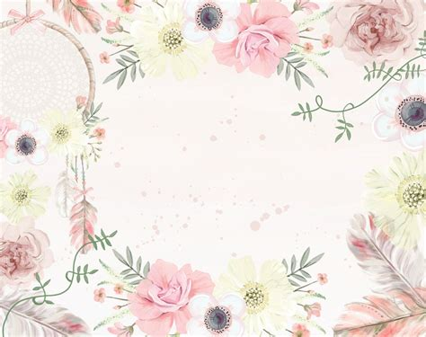 girls boho floral wallpaper ginger monkey
