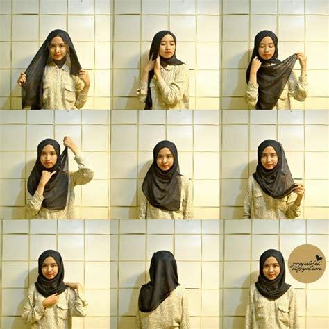 Pasmina Hk Denim Termurah Kerudung Modern 55 best images about hijaab on simple tutorial shawl and square tutorial