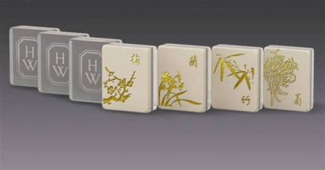 Handmade Mahjong Set - handmade mahjong set liuligongfang corporate sales