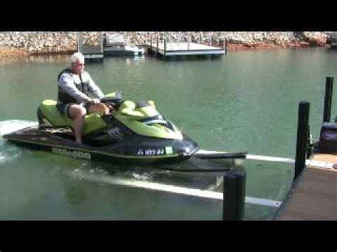 used sea doo boat lifts for sale front mount pwc lift youtube