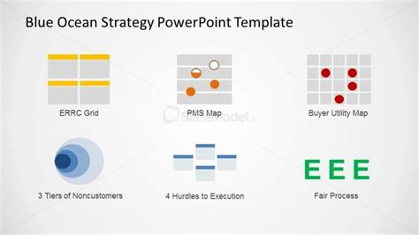 Bos Strategic Analysis Tools Icons Slidemodel Blue Strategy Powerpoint