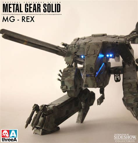 figure metal gear metal gear solid metal gear solid rex collectible figure