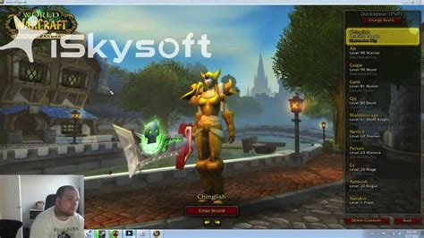 unique characters how to get unique world of warcraft character names