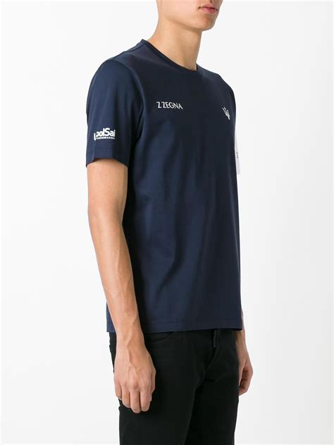Maserati T Shirt by Z Zegna Maserati T Shirt In Blue For Lyst