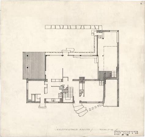 aalto floor plan the aalto house 183 architecture navigator