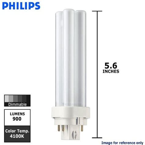 Lu Philips Pl C 13 Watt 10 pack philips lighting 38328 1 pl c 13w8414palto