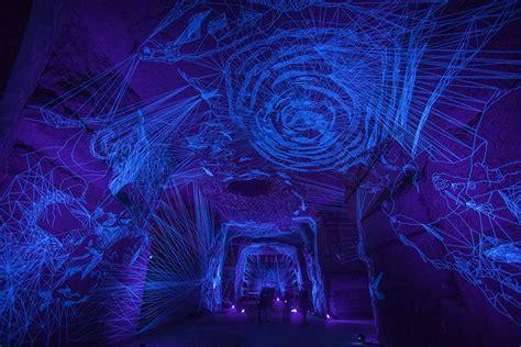 uv string lights take an immersive journey through these luminous string