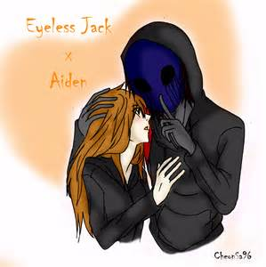 Eyeless jack x aiden art trade by cheonsa96 on deviantart
