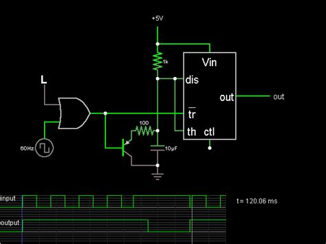 pulse detector circuit diagram 555 missing pulse detector circuit simulator