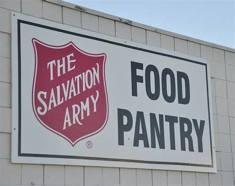 Salvation Army Food Pantry opportunities to give back andrea dekker