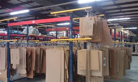 Clothes Rack Warehouse by Garment On Hanger Goh Racks Warehouse Design