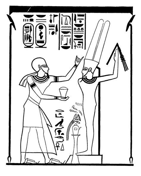 dibujos de jelogrificos pintores famosos pintura egipcia
