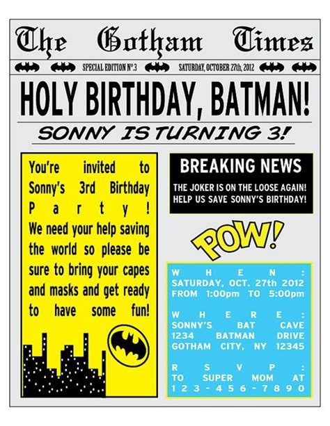 newspaper theme invitation 78 images about newspaper party theme on pinterest boy