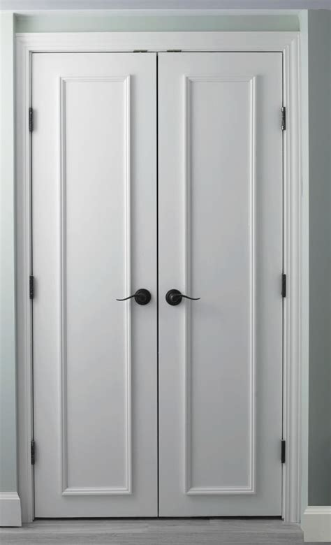Big Closet Doors 18 Closet Door Makeovers That Ll Give You Closet Envy
