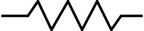 resistor symbol illustrator resistor symbol clip free