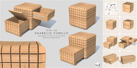 sgabello legno design sgabello design in legno massello sgabello cubello