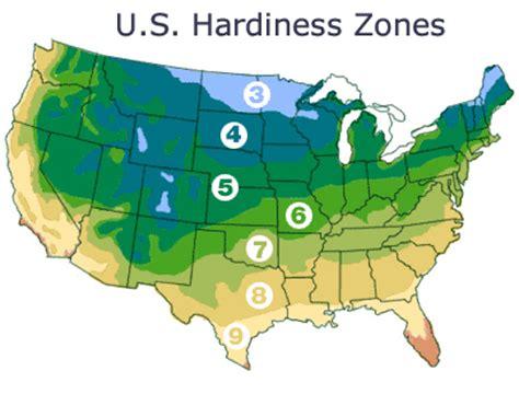 gardening zones us hardiness zones