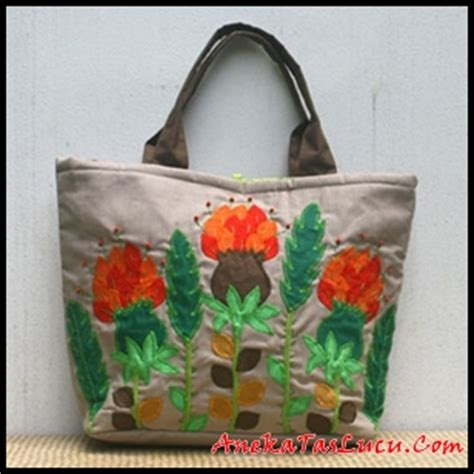 Tas Kanvas Pura Bali Sling Bag Tote Bag Tas Wanita model tas kanvas anekataslucu