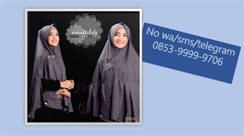 Grosir Jilbab Makassar promo 0853 9999 9706 tsel grosir jilbab instan syar i