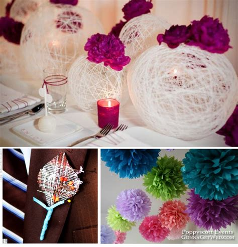 do it yourself wedding ideas cee s one of my coworkers was married yesterday in