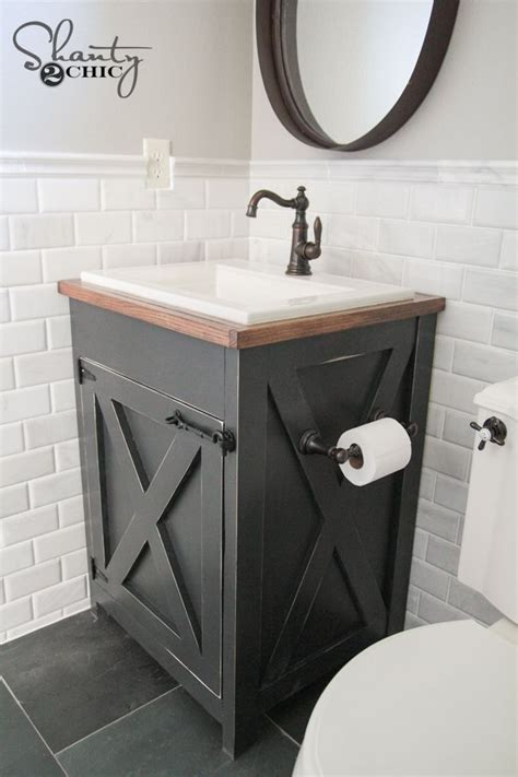 diy farmhouse bathroom vanity home decor bathroom ideas