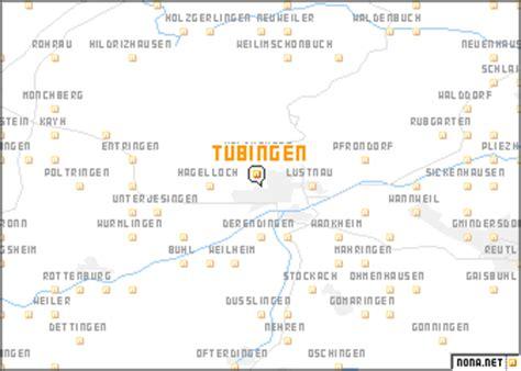 tubingen germany map t 252 bingen germany map nona net