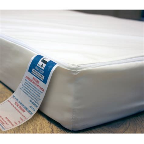Breathable Cot Bed Mattress by Waterproof Baby Cot Toddler Bed Cotbed Mattresses Fully Breathable Zip Cover Ebay