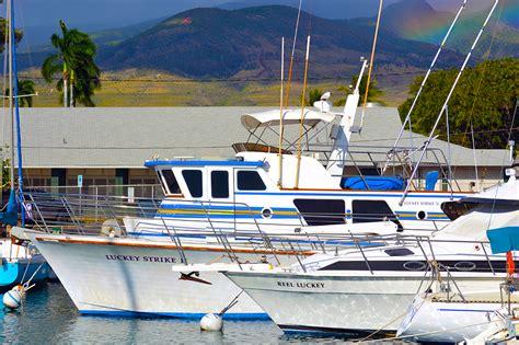 rainbow sport fishing boats lahaina harbor sportfishing charters
