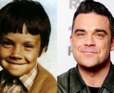 celeb baby images it s robbie williams baby picture guess the celebrity