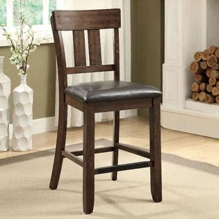 Furniture Of America Palister Country Furniture Of America Theron Ii Country Style Counter Height Dining Chair Rustic Oak