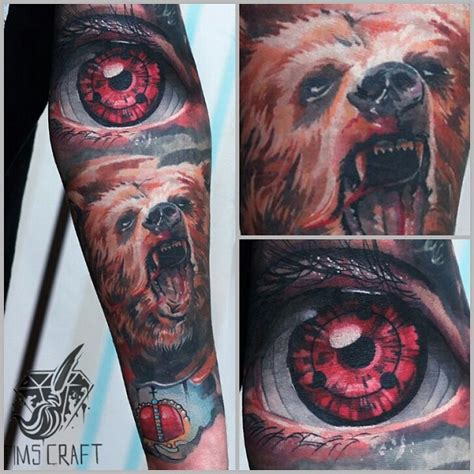 sharingan tattoo amazing designs and ideas
