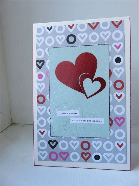 Small Handmade Greeting Cards - a bit of glue paper handmade small greeting card