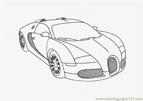 Coloring Pages Bugatti Veyron Coloring Page Transport Bugatti Coloring Pages