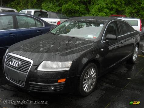 Audi A6 3 2 by 2007 Audi A6 3 2 Quattro Sedan In Brilliant Black 054598