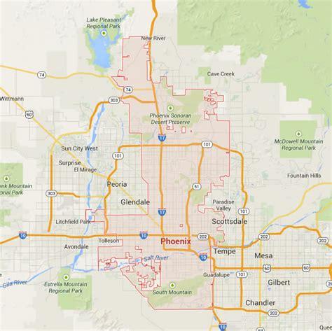 usa arizona map arizona map
