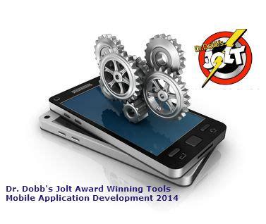 mobile application development tools award winning tools for mobile application development