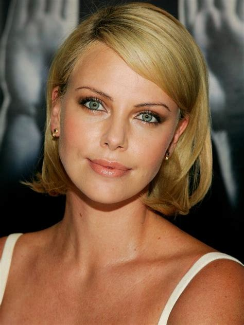 pictures charlize theron hair styles and colors through photo gallery of charlize theron bob hairstyles viewing 7