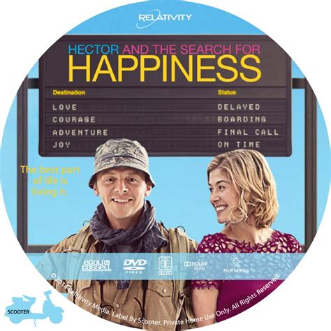 Search For The Hector And The Search For Happiness Custom Dvd Labels Hector And The Search For