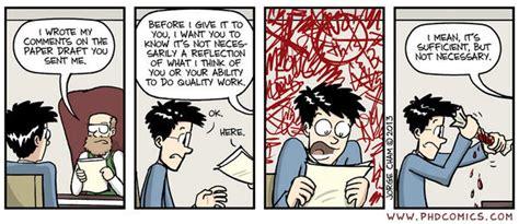 phd comics thesis the grad student way