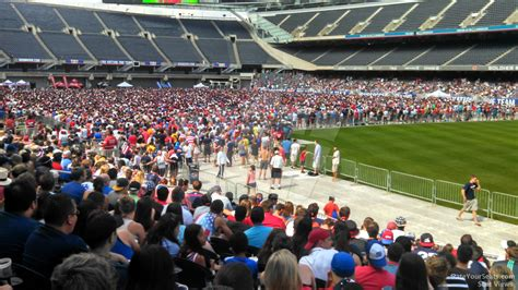 soldier field section 130 soldier field section 130 concert seating rateyourseats com
