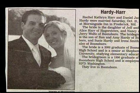 Worst Wedding Announcement Last Names by 15 Wedding Announcements From Couples With Deeply