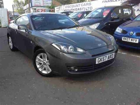 hyundai 2007 57 s coupe 1 6 siii 3d 104 bhp car for sale