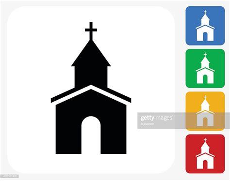 church clipart church icon flat graphic design stock illustration getty