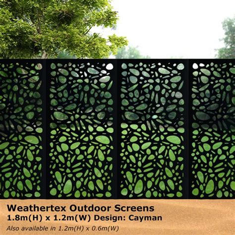 decorative outdoor screens decorative metal garden privacy screen panels garden