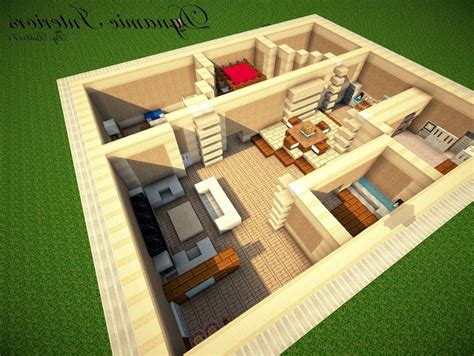 minecraft home design modern house interior lighting