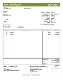 search results for editable invoice template pdf