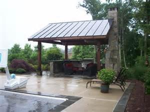 backyard pavilion landscape landscape design patios