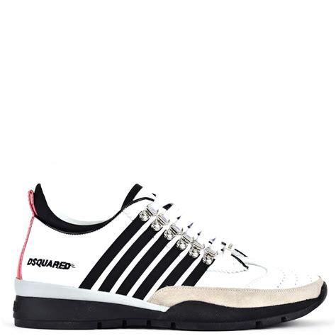 dsquared sneakers dsquared2 dsquared sneaker bianco nero s sneakers